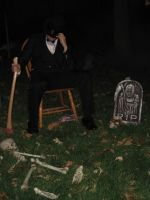 Abraham Lincoln:  Vampire Hunter Costume by KingTauros