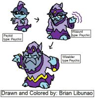 Fakemon: Wizards by Brian12