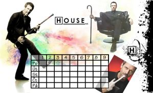 House M.D. timetable by Ivet-k