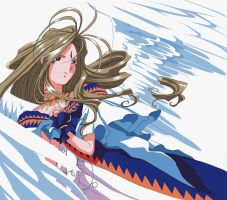 Last ever belldandy fanart 2 by HaydenM
