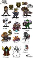 X-Com Aliens by ShroomArts