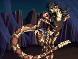 Snake Spider Chick by Pinkuh