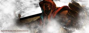 Lee Sin Signature by ericlesk
