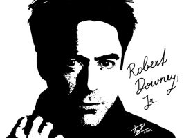 RDJ by Amaterasuscorp1