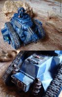 Imperial Guard Leman Russ by LeoniusPand