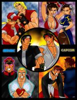 capcom vs snk by levonn78