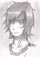 Not so accurate self sketch by xombiethewhimsical