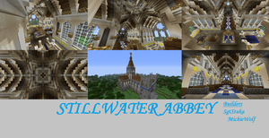 Minecraft Stillwater Abbey by NiegelvonWolf