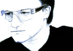 Bono - my hero by saoki