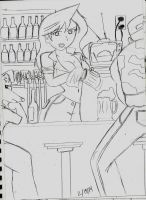 at the bar by k123money