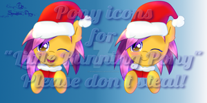 Pony icons for Little Running Pony by SparkissPony