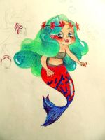 Little Mermaid by LilianFork