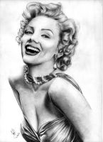 Marilyn Monroe by Woophy