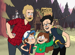 GF/GMM Crossover: When Paranormal meets Mythical by benevolent-angel94