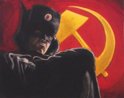 Red Son Batman by Stilltsinc