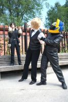 Stopping a fight by CosplayDream