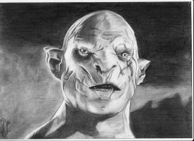 Azog by Midaqle