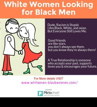 Maturd black women seeking white men