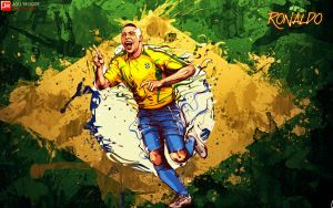 Ronaldo #9 Wallpaper by briorey