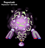 PokeFusion - Electromagnetic Specter by tjg-12345