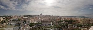 Vatican Rome - Pano by BlackCarrionRose