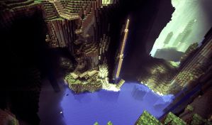 Minecraft - Beautiful World 2 by MuuseDesign