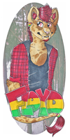 Floyd badge 0.1 by s-trawberrymilk