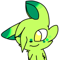 green thing from outa space by MillyTheTigerKitten