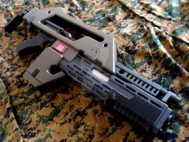 M41a Pulse rifle 2 by ViennaGater
