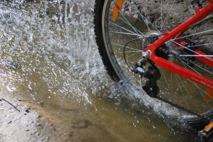 i want to ride my bike in H20 by rybka91