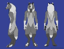 Arowolf Anthro Ref by arowolf