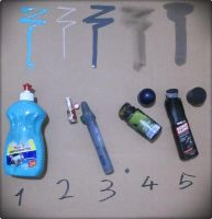 Homemade markers and tools by Senf42