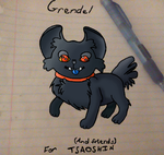 Grendel for TsaoShin and Friends (Finished) by WolfbotShadowdragon