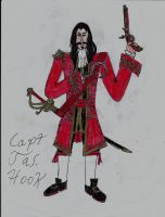 Captain Jas. Hook by Edward-Smee