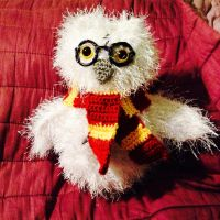 Harry Potter Hedwig Mash-up by magpie89