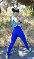 Chun Li Alpha cosplay by LexLexy