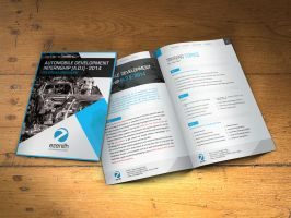 Ezenith Brochure Design by VicassoD