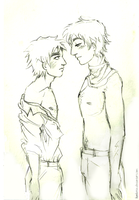[APH] [Sketch] RusUK-2 by Margo-sama