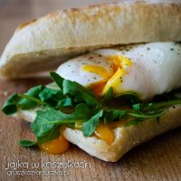 poached eggs by Pokakulka