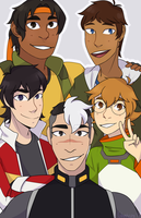 Self Made Family [Voltron] by ghostyjpg