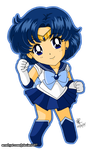 02. Sailor Mercury by amethyst-rose