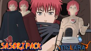 Naruto UNS3 - Sasori Pack FOR XPS by MVegeta