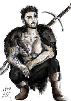 Barbarian of the north by Velekora