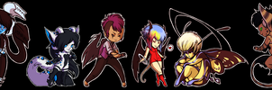 buncha pudgy chibis by theblackbutterfly