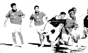 Soccer Players by Valmont-jose
