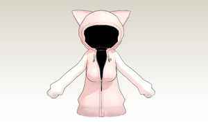 MMD Kitty Hood -updated- by amiamy111