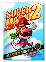 Super Mario Bros. 2 by MathieuBeaulieu