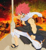 Dragon Slayer Natsu Full by fullmetaljuzz