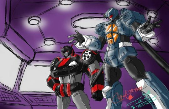 BlackGate and SideWinder by Tc-Chan