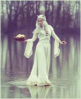 Ivory Art Nouveau Dress, by Somnia Romantica by SomniaRomantica